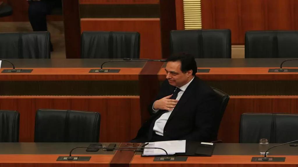 دياب: الحكومة لن تجتمع لإقرار الموازنة حالياً
