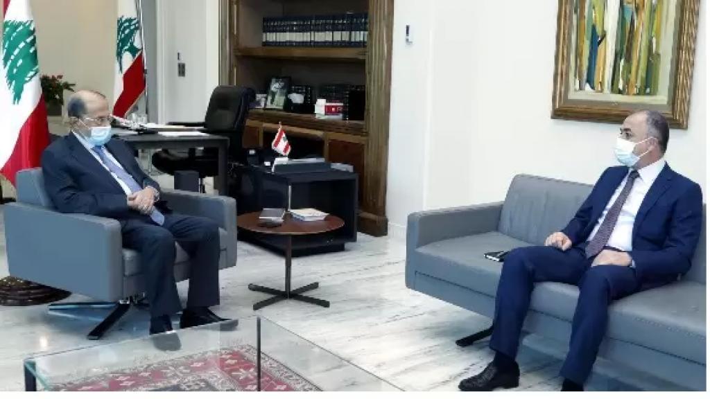 """الياس بوصعب من بعبدا: تمنيت على الرئيس تنظيم طاولة حوار للبحث في تطبيق ما تبقى من """"الطائف"""" ليصبح لبنان دولة مدنية فعلية"""
