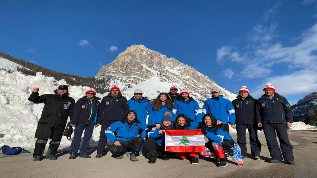 بعثة اتحاد التزلج في ايطاليا للمشاركة في بطولة العالم للتزلج الألبي