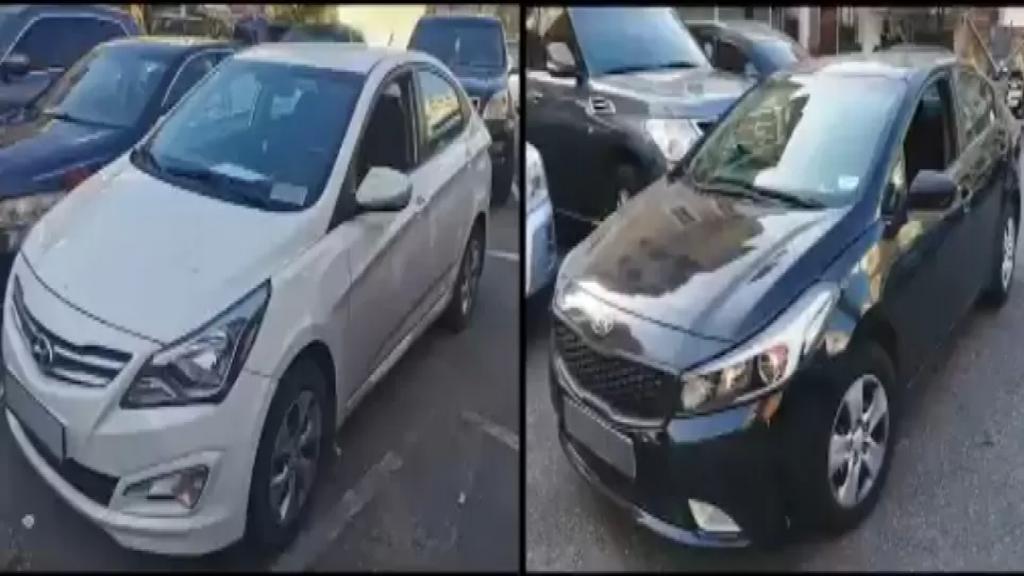 بالفيديو/ شعبة المعلومات توقف عصابة سرقة سيارات وتهريبها الى سوريا وتضبط معها سيارتين اعيدتا الى مالكيهما