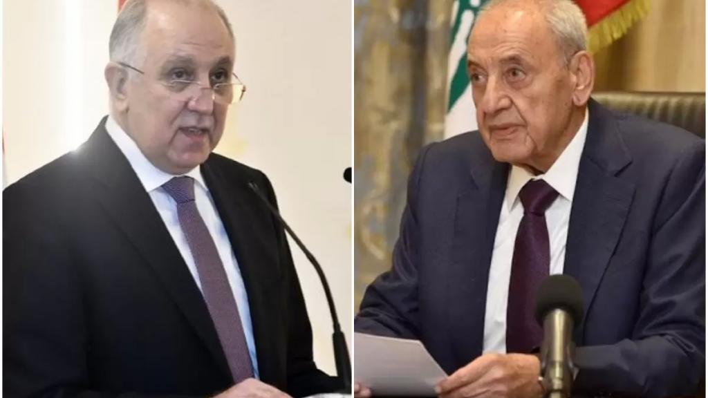 الرئيس بري لـ وزير الداخلية: لضرورة إجراء الانتخابات النيابية الفرعية