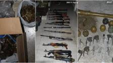بالصور/ الجيش اللبناني ينفذ عملية دهم في باب التبانة: توقيف أشخاص وضبط أسلحة وحبوب الكبتاغون وألبسة عسكرية وأعتدة!