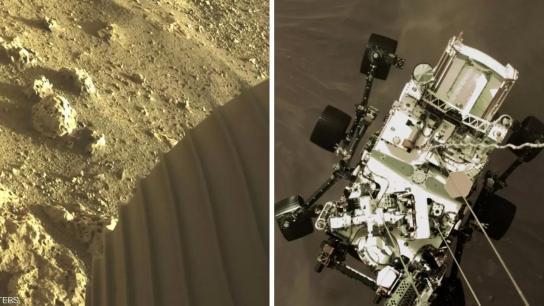 """صور جديدة من المريخ قُبيل الهبوط على سطحه خلال """"سبع دقائق من الرعب"""""""