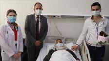 """شاب سوري """"يهدي كبده"""" لوالدته في عيد ميلادها في عملية جراحية ناجحة خلصتها من أوجاعها"""