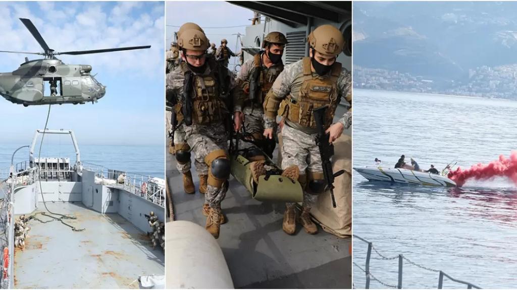 """بالفيديو والصور/ تمرين قتالي مشترك بين الجيشين اللبناني والأميركي في عمشيت ــ جونية..""""Operation Deep Horizon"""""""