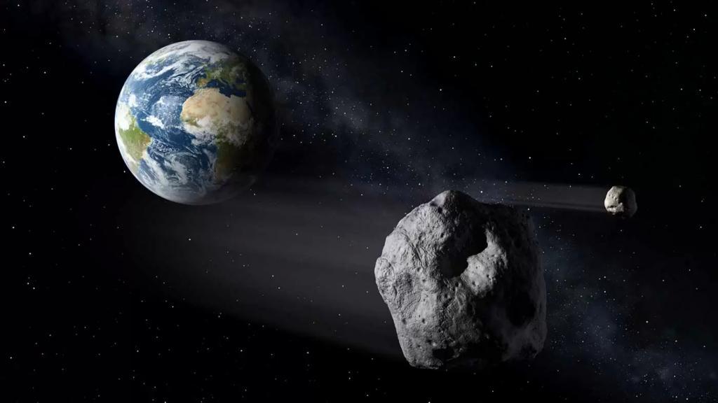 ناسا: كويكب بحجم ملعب كرة قدم يقترب من الأرض اليوم الإثنين