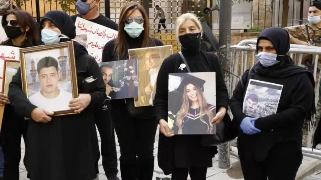 أهالي شهداء تفجير المرفأ: لا لتسييس قضيتنا الوطنية والإنسانية