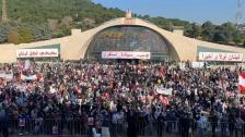 الراعي أمام الحشود في بكركي: البطريرك لا يفرّق بين لبنانيّ وآخر.. نحن شعب يريد أن يعيش كل تاريخه تاريخ صداقات لا عداءات