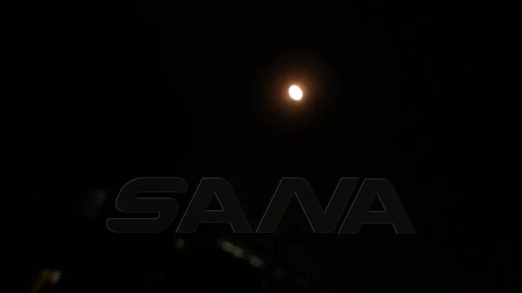 بالصور والفيديو/ الدفاعات الجوية السورية تتصدى لصواريخ العدوان الإسرائيلي وتسقط عدداً منها (سانا)