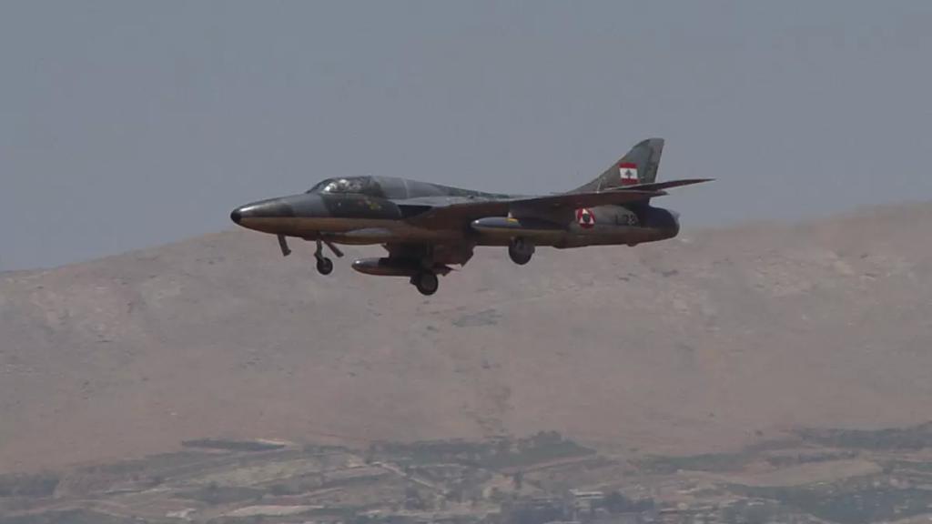 الجيش اللبناني: القوّات الجوّية ستقوم بطيران ليلي الأسبوع المقبل