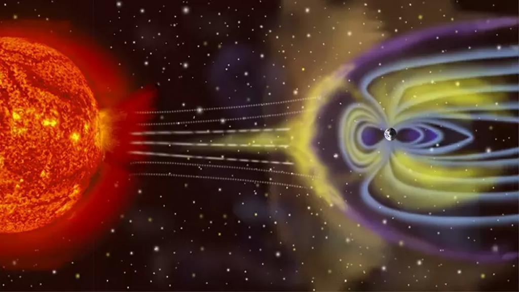 بعد توهّج ضعيف على الشمس.. عاصفة مغناطيسية متوسطة المستوى تضرب الأرض اليوم