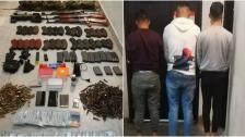 الجيش ينفذ عملية دهم في صبرا ويضبط مخدرات وأسلحة وذخائر ورمانات يدوية ومبلغ من المال