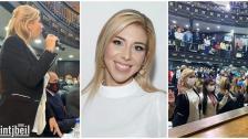 بالصور/ ابنة بنت جبيل فيروز حراجلي بزي تفوز بمقعد نائب في برلمان فنزويلا