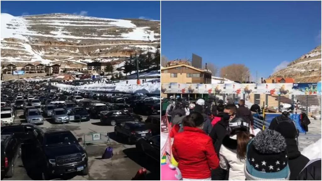 """نداء إلى اللبنانيين.. مراكز التزلج في كفرذبيان """"فوّلت""""!"""