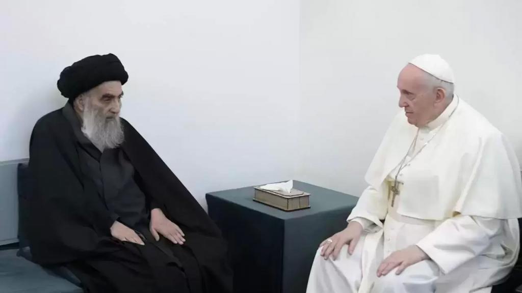 بعد لقاء البابا والسيستاني.. الكاظمي يعلن السادس من مارس يومًا وطنيًا للتسامح والتعايش في العراق