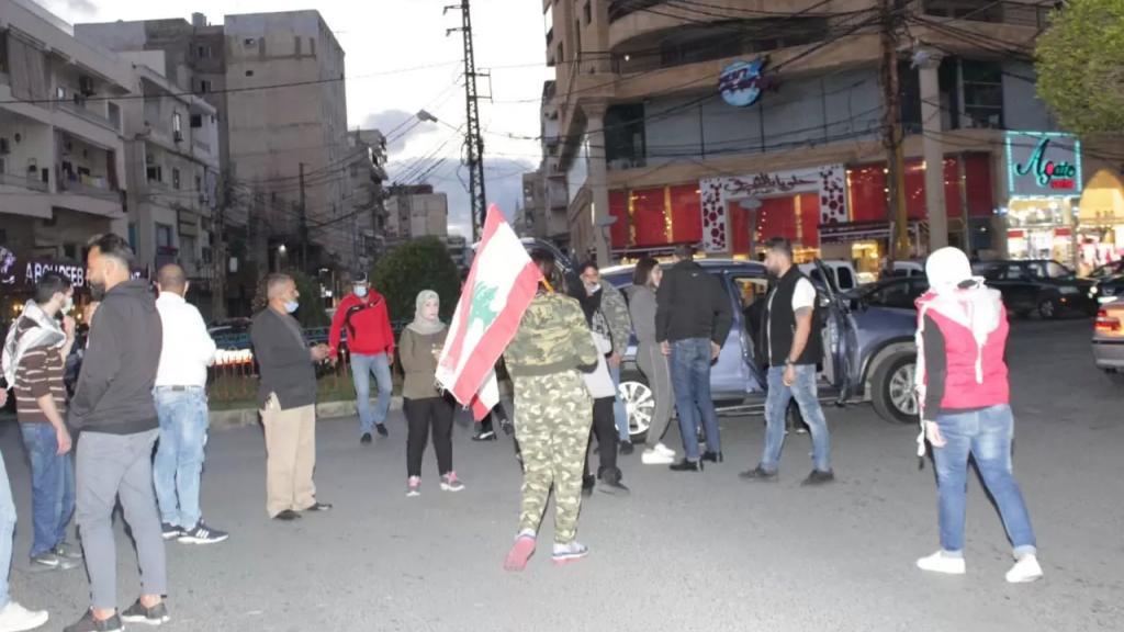 تظاهرة في صور احتجاجا على الاوضاع الاقتصادية