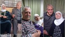 الحاج أسعد والحاجة ذيبة من بلدة علي النهري.. عاشا بحب حتى نهاية سنواتهما التسعينية إلى أن فرّقتهما كورونا