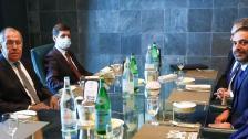 بالصور/ الحريري يلتقي وزير الخارجية الروسي في أبو ظبي: تناول البحث خلال اللقاء مجمل الأوضاع والتطورات في لبنان والمنطقة