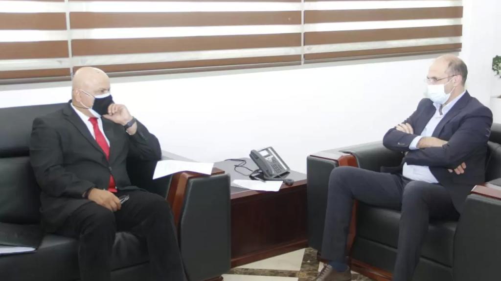 وزير الصحة طلب من مدير دائرة المشرق في البنك الدولي ساروج كومار زيادة كمية اللقاحات