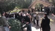 """وقفة احتجاجية أمام منزل رئيس """"جمعية المصارف"""" سليم صفير في سن الفيل"""