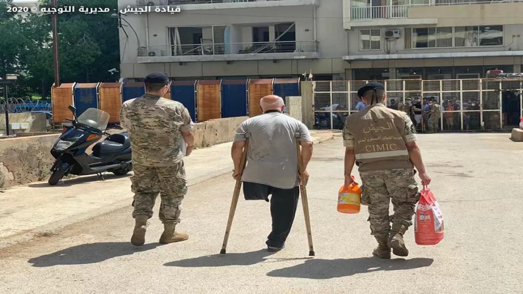 قرار دولي بحصر توزيع المساعدات على متضرري انفجار المرفأ بالجيش اللبناني كونه مصدر ثقة (الأنباء الكويتية)