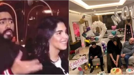 غضب على مواقع التواصل بعد انتشار فيديو لإحتفال الفنان تامر حسني بعيد ميلاد ابنة الوزير علي حسن خليل.. الفيديو قديم ويعود لعدة سنوات
