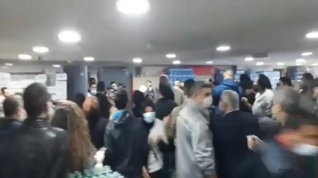 بالفيديو/ بسبب الزيت المدعوم...إشكال كبير وتضارب في احدى التعاونيات!