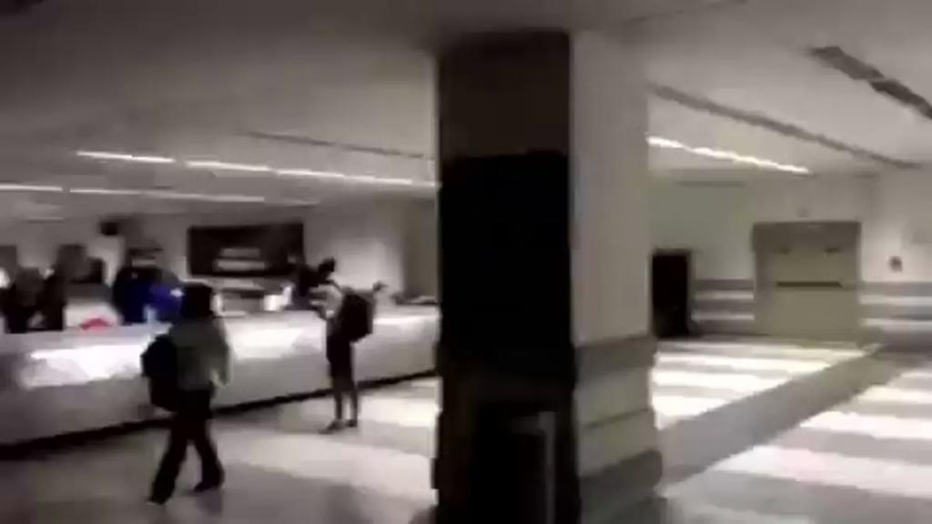بالفيديو/ انقطاع التيار الكهربائي في مطار بيروت !