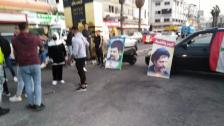 الوكالة الوطنية: محتجون قطعوا المدخل الرئيسي لمدينة صور عند مفرق العباسية بأجسادهم