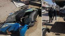 بالصور/ 3 إصابات بحادث سير على طريق زبدين ومعلومات عن وفاة أحدهم متأثرًا بإصابته