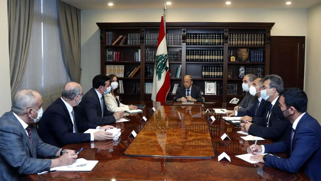الرئيس عون رأس اجتماعاً خصص للبحث في أوضاع مرفأ بيروت وخطط تنظيفه وتطويره