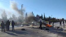 محتجون قطعوا طريق عام بعلبك حمص الدولية عند مفترق بلدة شعث ومقنة