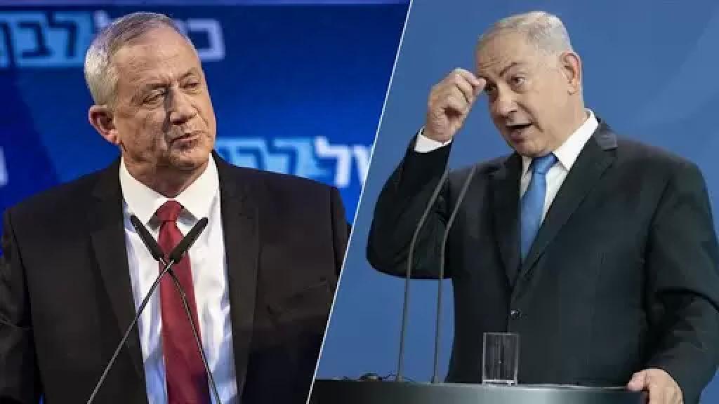 """نائب رئيس الوزراء الإسرائيلي بني غانتس يصف نتنياهو بـ """"الزبالة"""""""