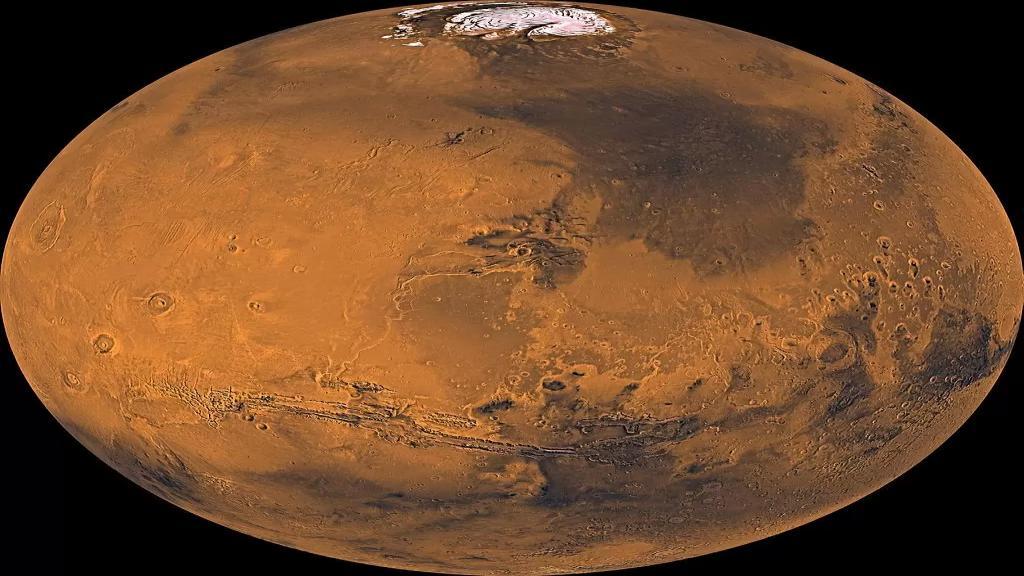 المريخ يخفي محيطًا قديمًا تحت سطحه