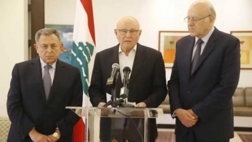 رؤساء الحكومات السابقون: تشكيل حكومة تحظى بثقة كل اللبنانيين الباب الواجب للعبور من حالة الانهيار الشامل