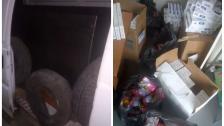فضائح التهريب تابع...كمية كبيرة من الدخان المزوّر وفان بداخله خزّان سرّي يحتوي على 1500 ليتر من البنزين بقبضة جمارك طرابلس