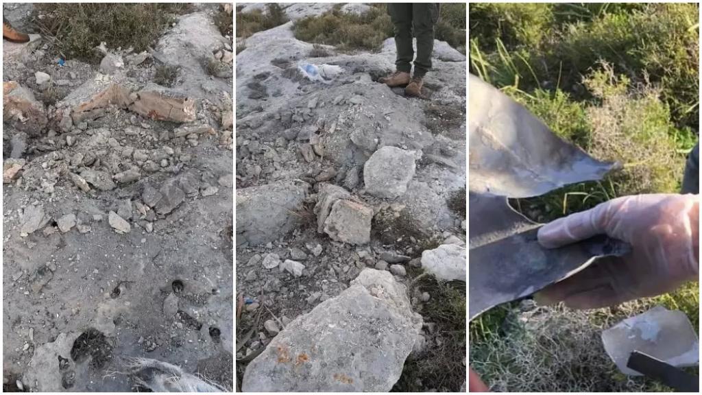 بالصور/ من مكان الإنفجار الذي حدث يوم أمس في بلدة أنصارية