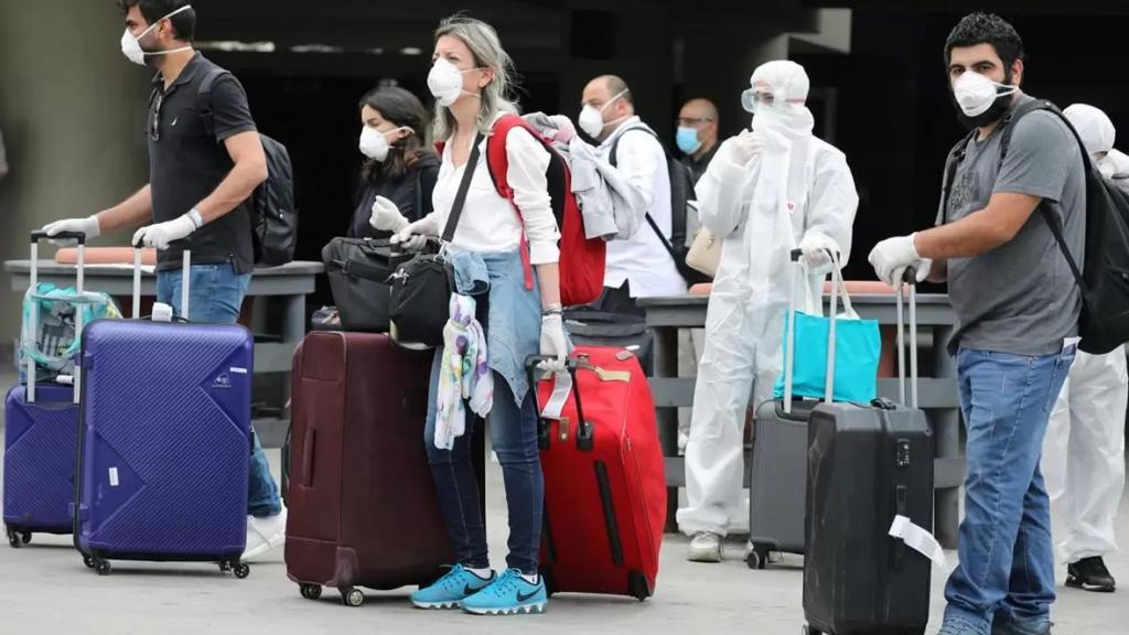 وزارة الصحة: لم يعد مطلوباً من الركاب القادمين إلى لبنان تعبئة الاستمارة الصادرة عن الوزارة