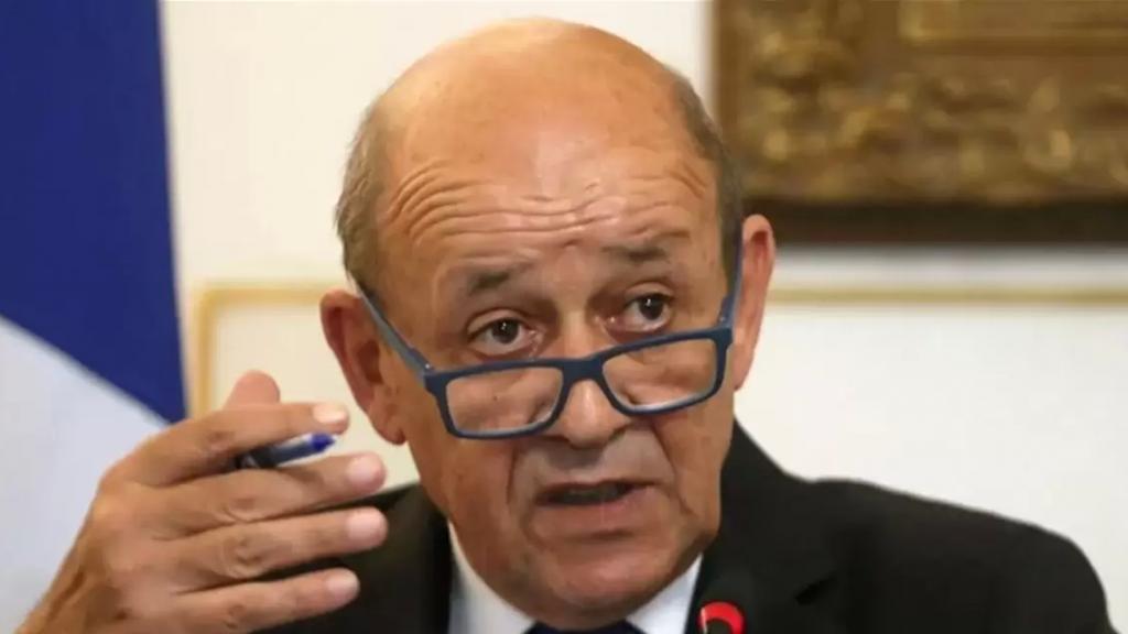 """لودريان: """"لا يمكن للاتحاد الأوروبي أن يقف مكتوف الأيدي فيما لبنان ينهار"""""""