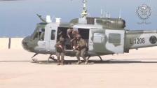 بالفيديو/ مناورة لمغاوير الجيش اللبناني تحاكي عملية دهم مجموعة ارهابية متحصنة في أماكن مبنية
