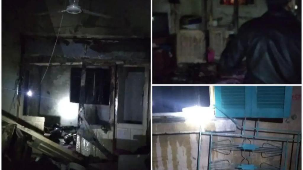 بالصور والفيديو/ انفجار ضخم في أحد البيوت في حي النبي انعام في بعلبك!