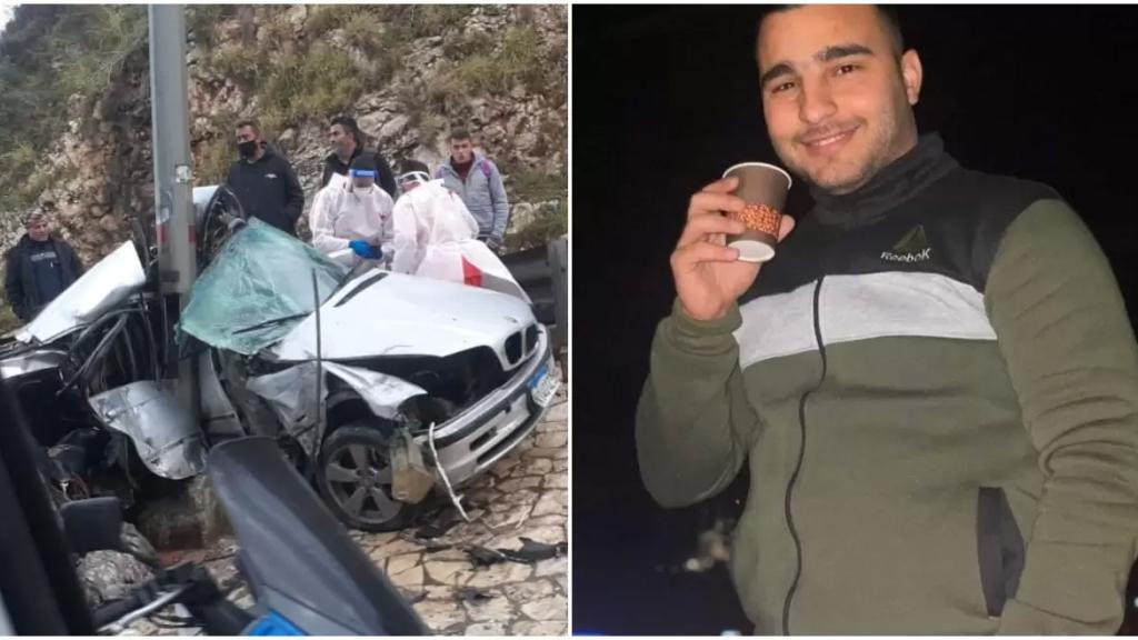 """""""محمد سنكري"""" العنصر بشعبة المعلومات ضحيّة الحادث المروع على أوتوستراد طبرجا"""