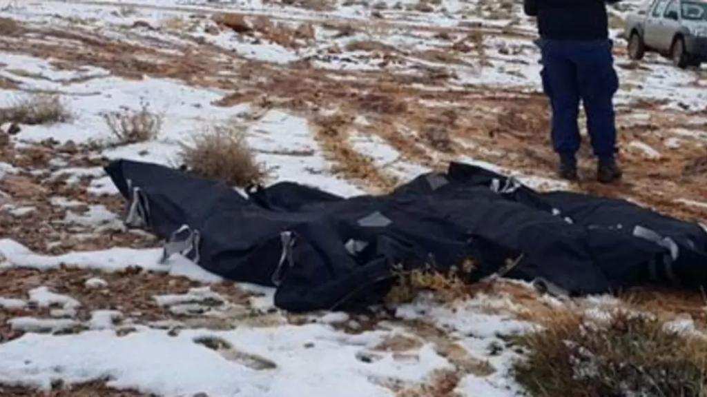 العثور على جثث 4 مفقودين (سيدتين وطفلين) في جرود عيناتا توفوا بسبب البرد القارس