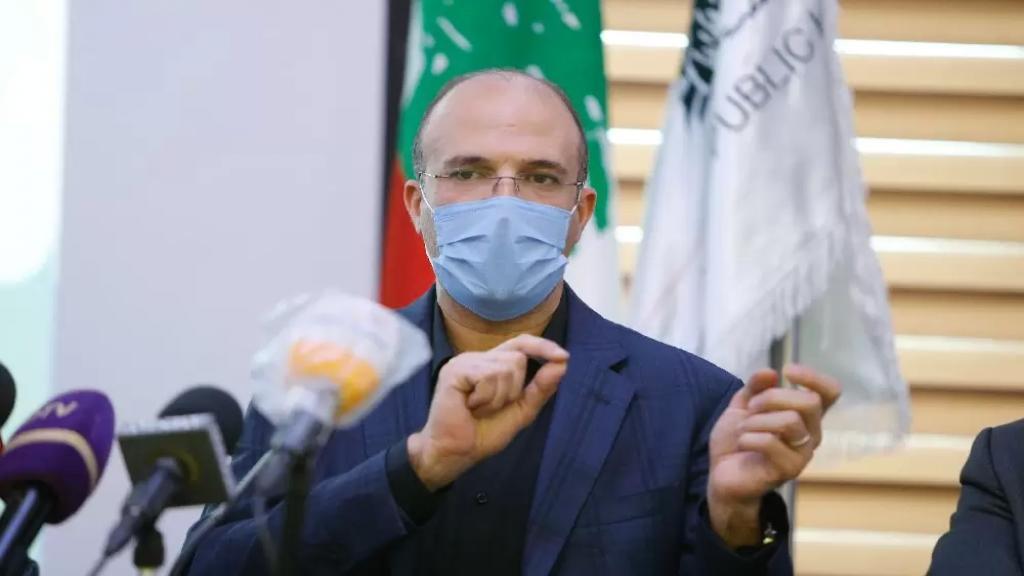 وزير الصحة: الضرورات تبيح المحظورات وبموضوع هبة الأوكسيجين من سوريا لا يوجد مناورة ولم نبرم اتفاقية مكتوبة وانما ما حصل هو اتفاقية شفهية