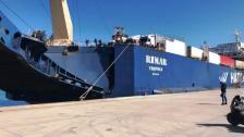 وصول السفينة اللبنانية RIMAR المحملة بـ6 شاحنات اوكسجين الى مرفأ طرابلس واخرى تصل مساء محملة بـ14 شاحنة... وحمولتهما تبلغ نحو 450 طنا من الاوكسجين!