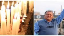 تحية لروح الناشط الدكتور محمد عجمي...إضاءة شموع في محلة سوق الخان