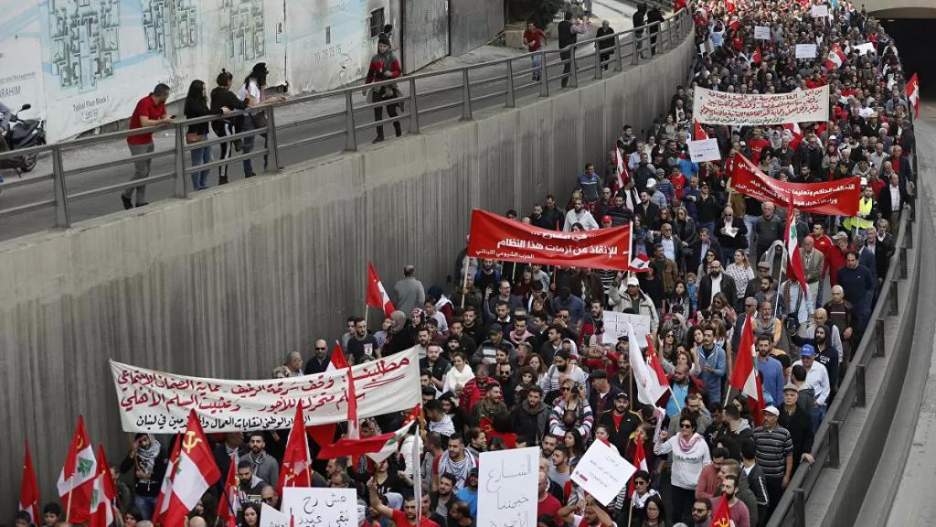 """الاتحاد العمالي العام: لإضراب وطني عام من يوم واحد الى يومين أو ثلاثة تحت شعار """"تأليف حكومة انقاذ فوراً"""""""