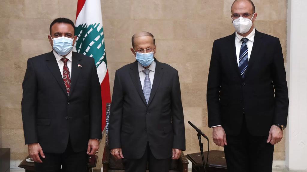 الرئيس عون: نقدّر للعراق موافقته على طلب لبنان تزويده بالنفط الخام مقابل الخدمات الطبية