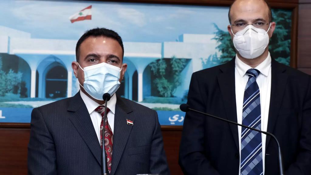 """محادثات رسمية لبنانية-عراقية في وزارة الصحة...""""العراق جادة بدعم الشعب اللبناني"""""""