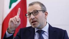 باسيل يعلق على مشكلة الحدود البحرية بين لبنان وسوريا: هذه المشكلة بحاجة إلى حل قائم على حسن الجوار بين مسؤولين يكونون مسؤولين فعلاً في البلدين وليس على يد هواةٍ في المصالح الاستراتيجية